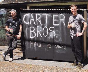 Carter Bros. working hard